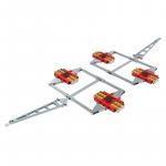 HTS ECO-Skate DUO XL (PU) - X48D (PU) + X48D (PU) Set