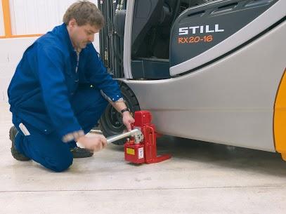 Für den Service an Flurförderzeugen