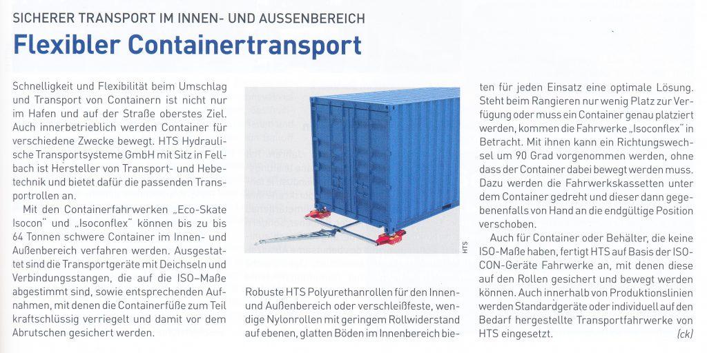 Technische Logistik 05-2021