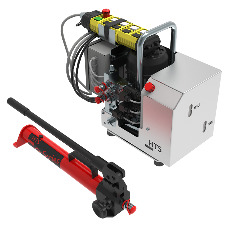 Pumpe für Schwerlastheber und Maschineheber