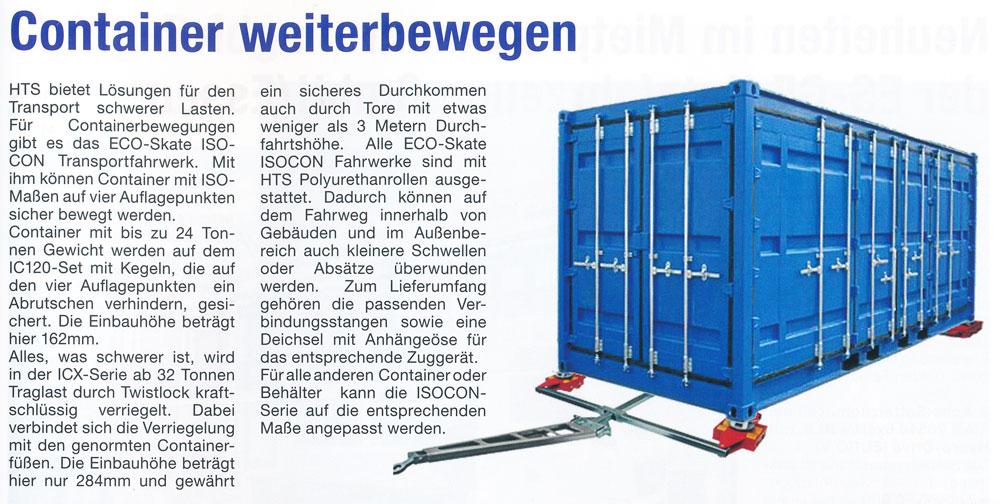 ROAD Journal 01/2015 - HTS - Container weiterbewegen